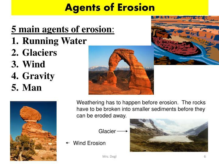Agents of Erosion