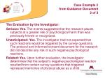 case example 2 from guidance document 2 of 3