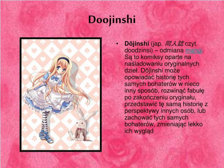 Doojinshi