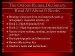 the oxford picture dictionary read all about it books
