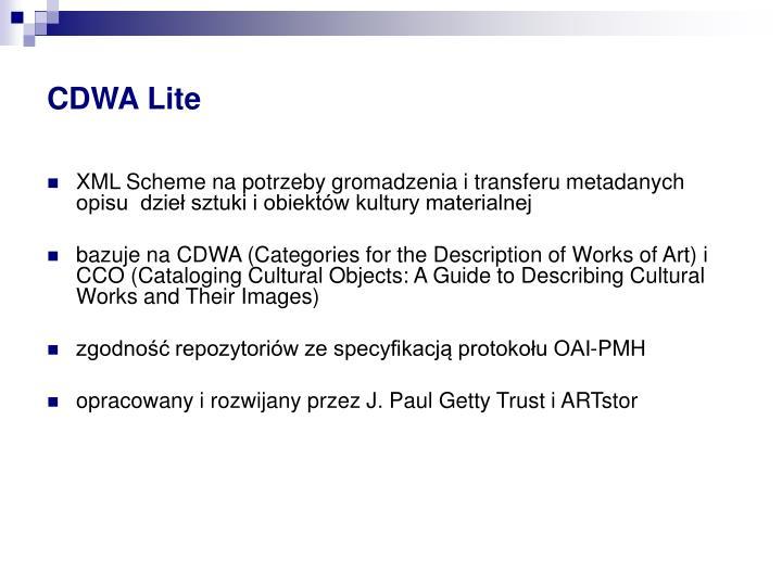 CDWA Lite