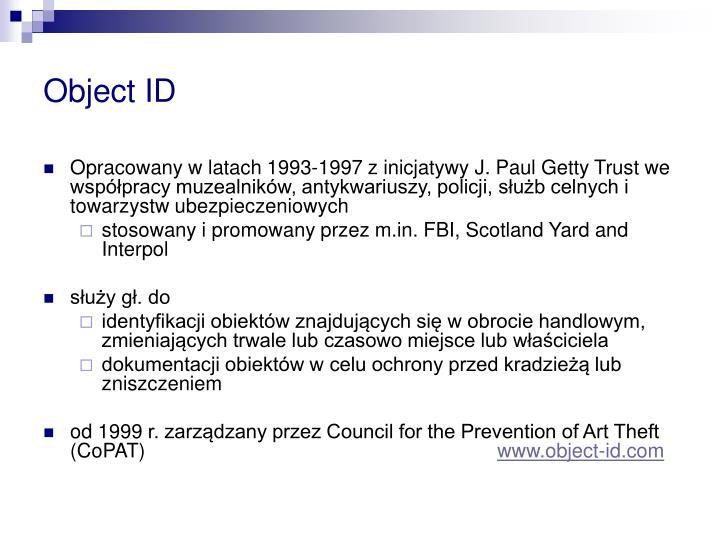 Object ID