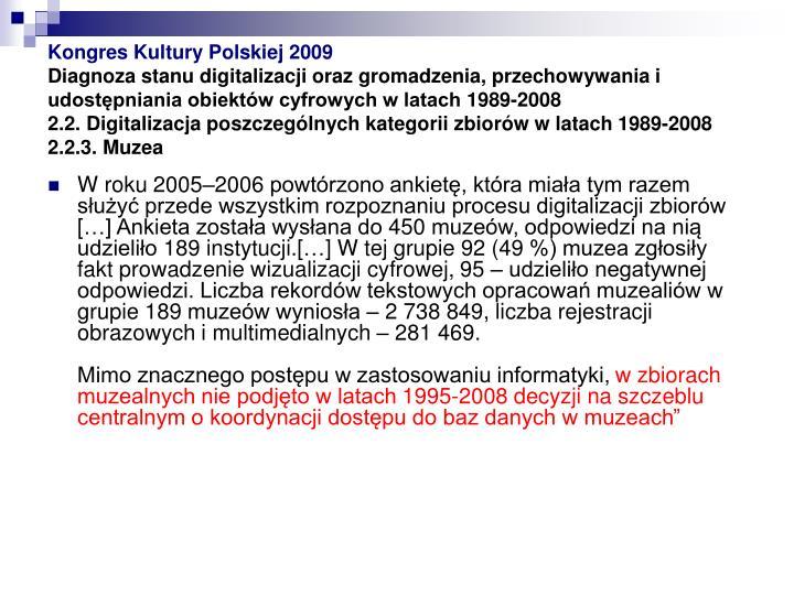 Kongres Kultury Polskiej 2009