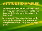 attitude examples5