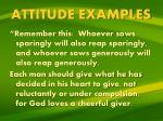 attitude examples8