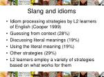 slang and idioms1