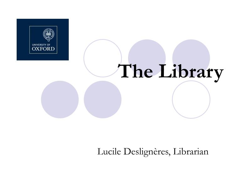 the library n.