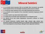 mineral sekt r
