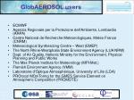 globaerosol users