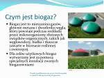czym jest biogaz