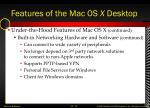 features of the mac os x desktop8