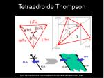 tetraedro de thompson