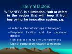 internal factors