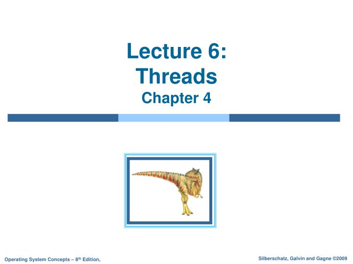 lecture 6 threads chapter 4 n.