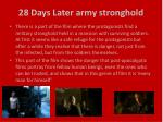 28 days later army stronghold