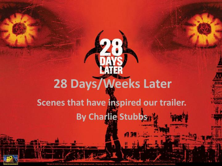 28 days weeks later n.