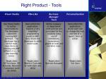right product tools