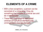 elements of a crime1