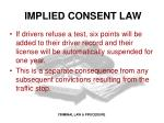 implied consent law1
