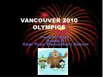 vancouver 2010 olympics