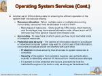 operating system services cont1