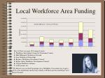 local workforce area funding