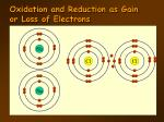 oxidation and reduction as gain or loss of electrons4