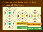 oxidation and reduction as gain or loss of electrons5