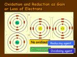 oxidation and reduction as gain or loss of electrons6