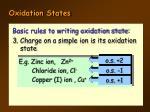 oxidation states4