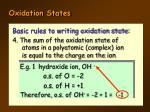 oxidation states5