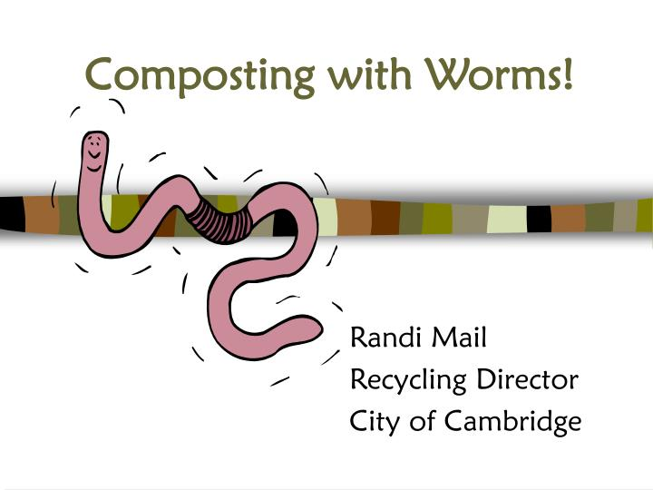 composting with worms n.