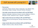 oup journals eifl pricing 2011