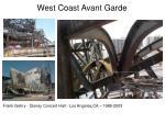 west coast avant garde6