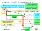 choices tradeoffs opportunity cost