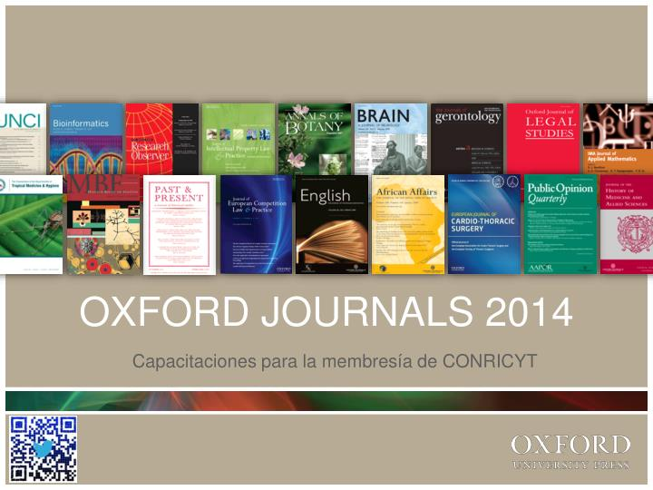 oxford journals 2014 n.