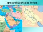 tigris and euphrates rivers