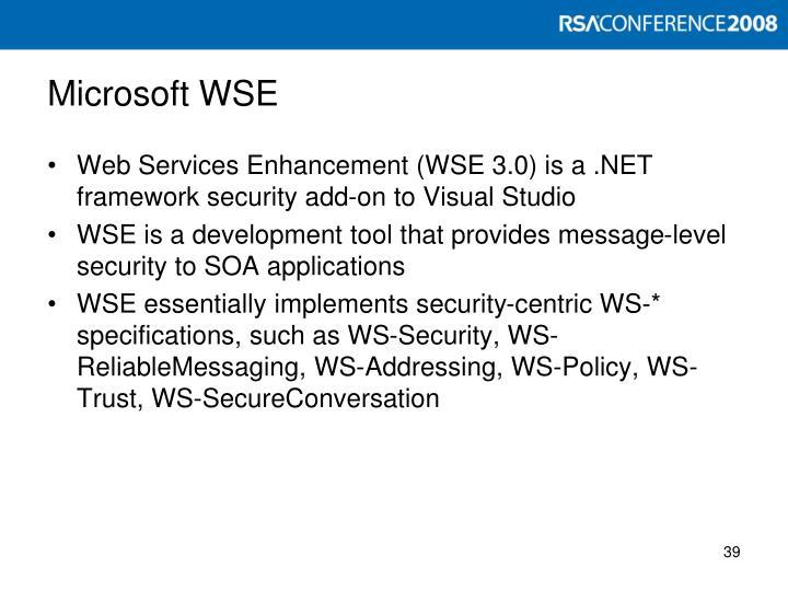 Microsoft WSE