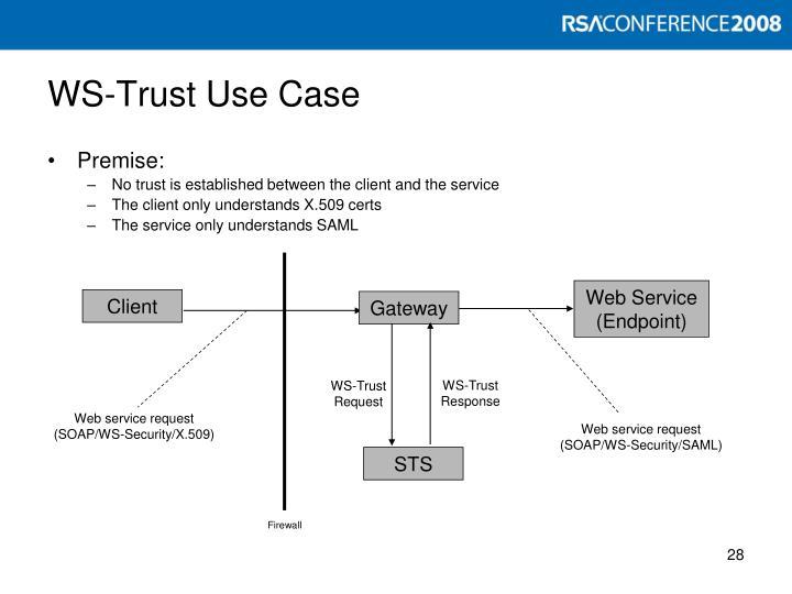 WS-Trust Use Case