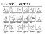 autism symptoms