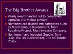 the big brother awards