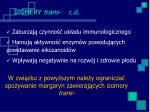 izomery trans c d