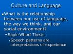 culture and language8