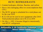 hcfc refrigerants