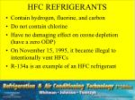 hfc refrigerants
