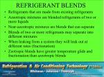 refrigerant blends