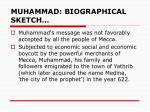 muhammad biographical sketch1