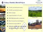 guinea mandala alluvial project