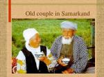 old couple in samarkand