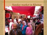 sunday market in khotan
